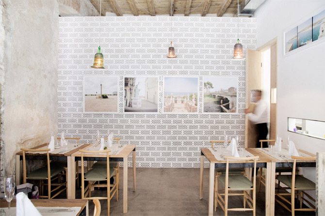 28 Posti Restaurant by Francesco Faccin