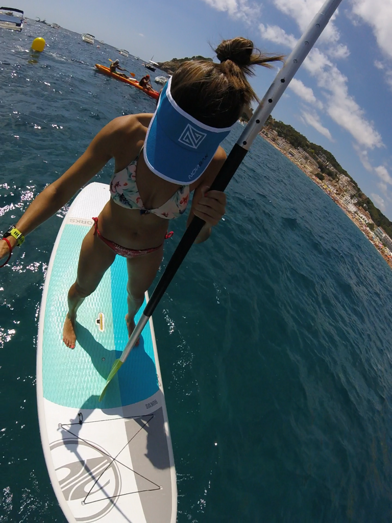 Enganchándome al Stand Up Paddle